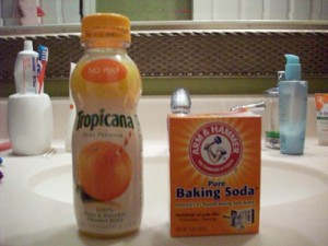 Citrus and Baking Soda