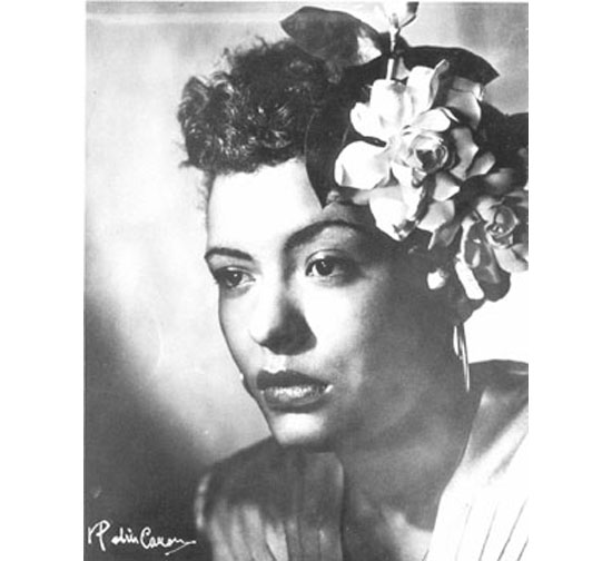 Beauty Icon - Billie Holiday
