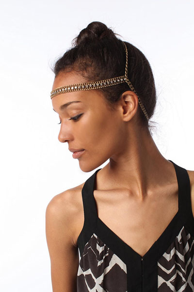 Goddess Chain Headwrap