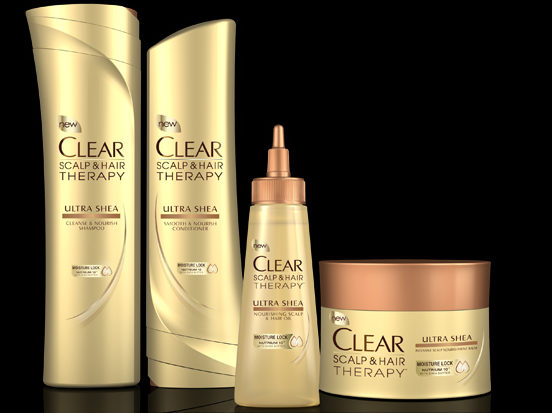 Clear Scalp Hair Therapy with Shea